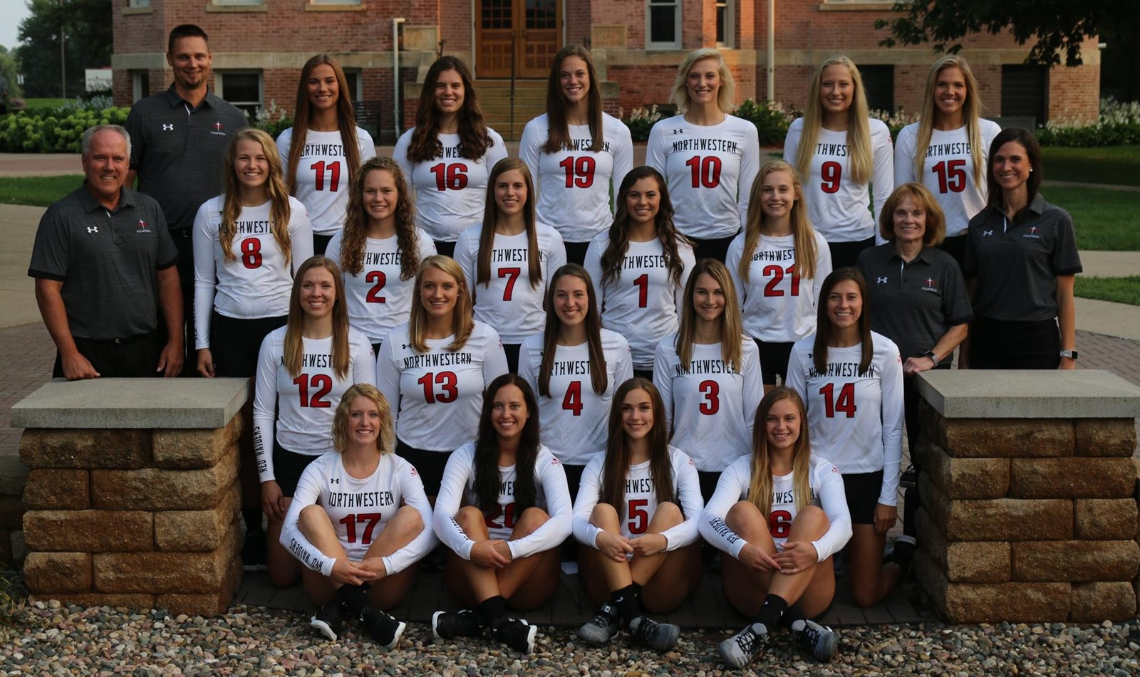 2018 Women S Volleyball Roster Northwestern College Athletics